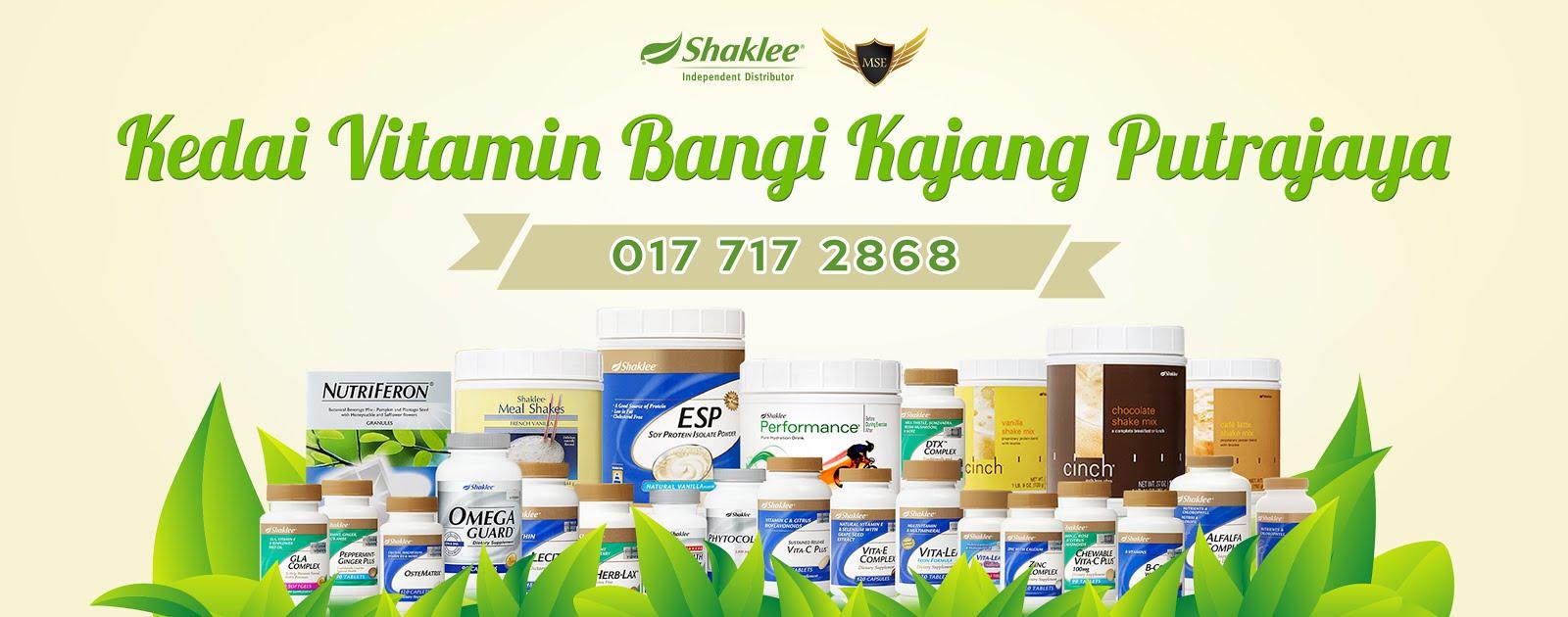 Kedai Vitamin Bangi Kajang Putrajaya