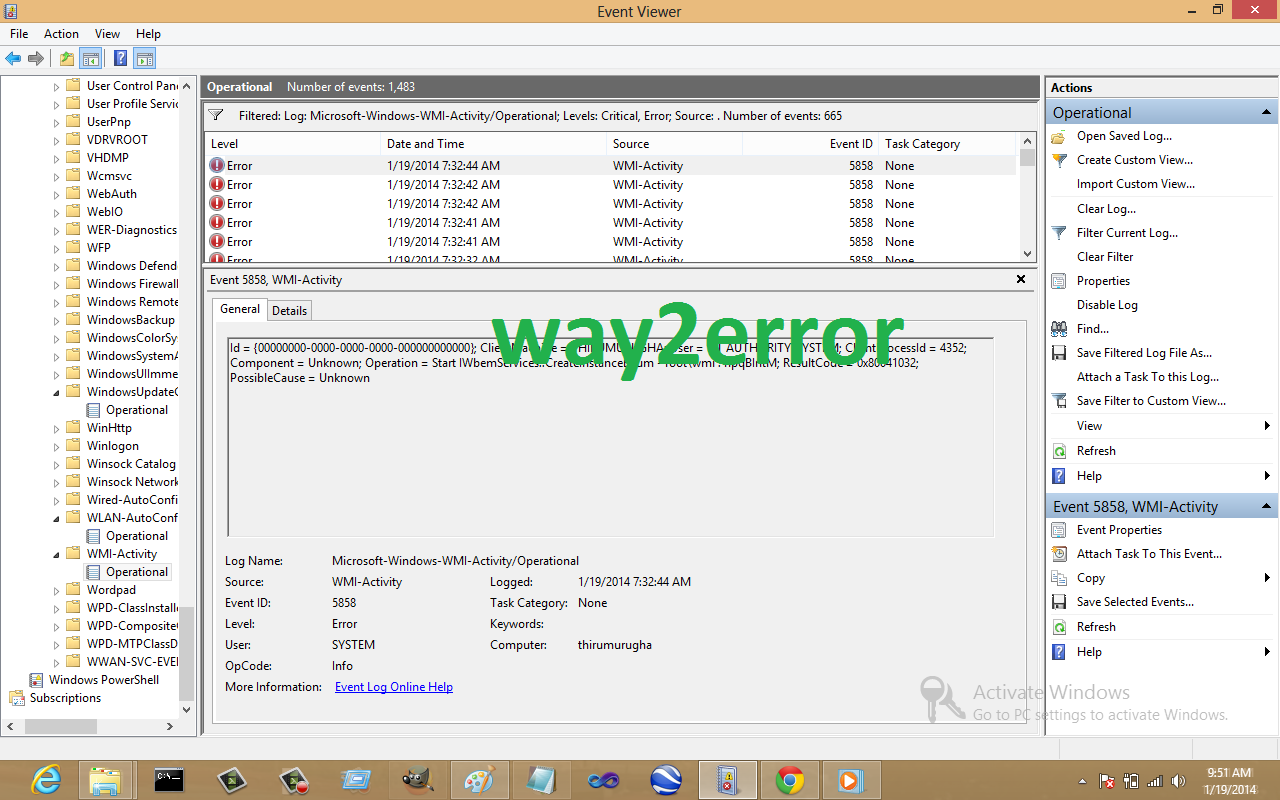 Root system 0001 driver for Window load event