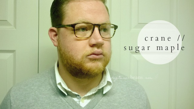 warby parker glasses // crane, sugar maple