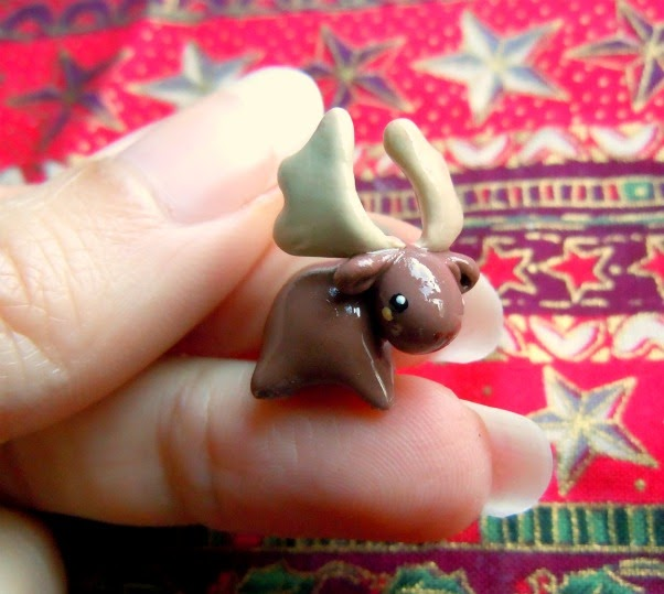 how to make dangly legs with polymer clay