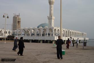 Masjid Terapong di Jeddah