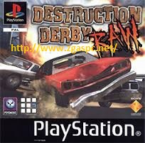 Free Download Destruction Derby Raw PSX ISO For PC ZGASPC