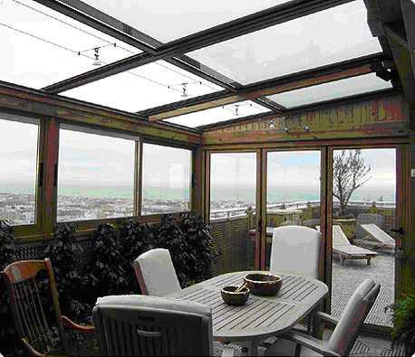 Cerramientos de terrazas y restaurantes en hoteles for Terrazas rurales