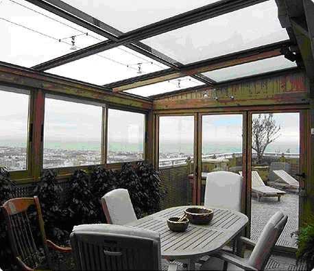 Cerramientos de terrazas y restaurantes en hoteles casas for Hoteles en madrid con piscina cubierta