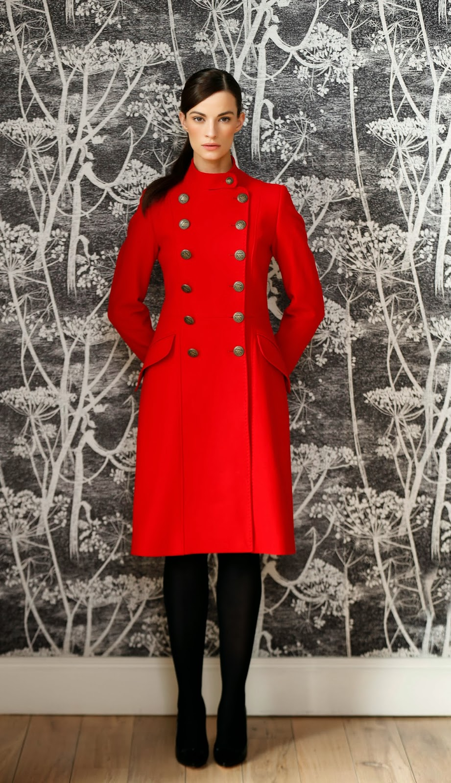 SassieDoll: Paul Costelloe Coat Collection for Arnotts 2013