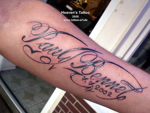 tattoo fonts script. script lettering tattoo
