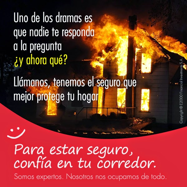 Seguro contra incendios, una necesidad urgente