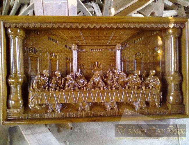 Teak relief model banquet carved deluxurindo home designs