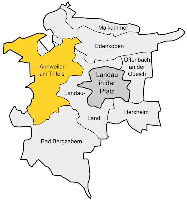Annweiler Karte Stadt Region