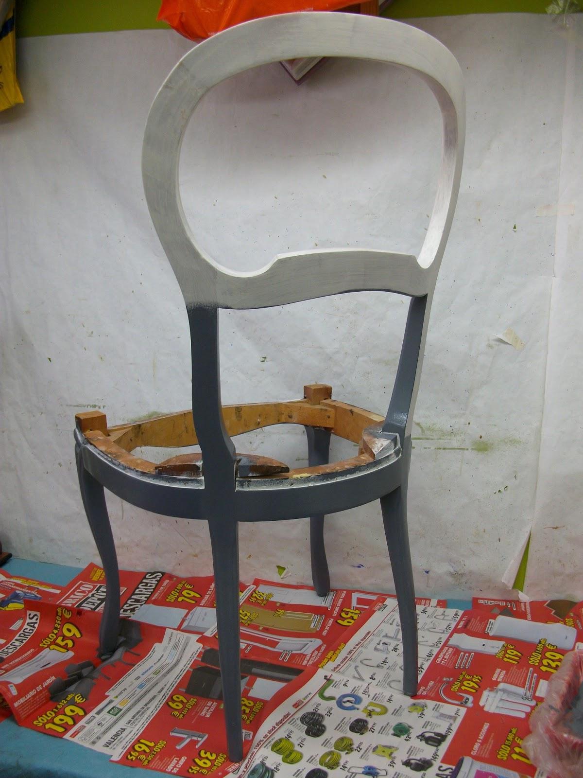 El blog de la restauradora restauraci n reciclado for Sillas antiguas tapizadas modernas
