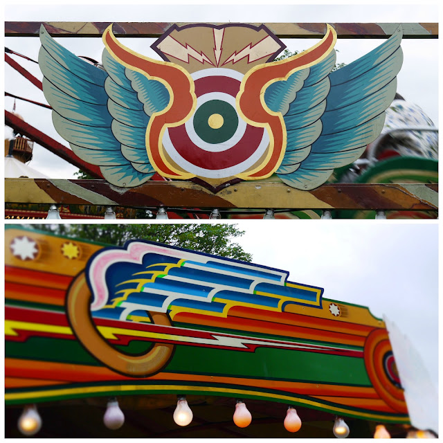 Fairground artwork