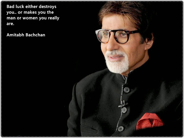 Famous Amitabh Bachchan quote