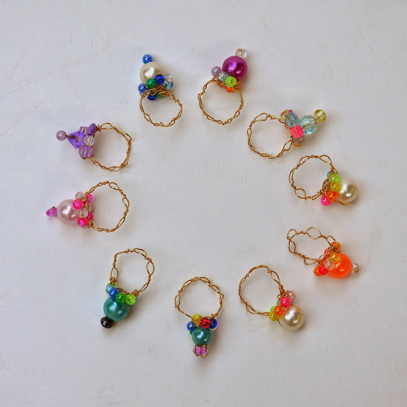 Wire Ring Beads: Munchkins And Mayhem