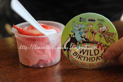 wild birthday badge