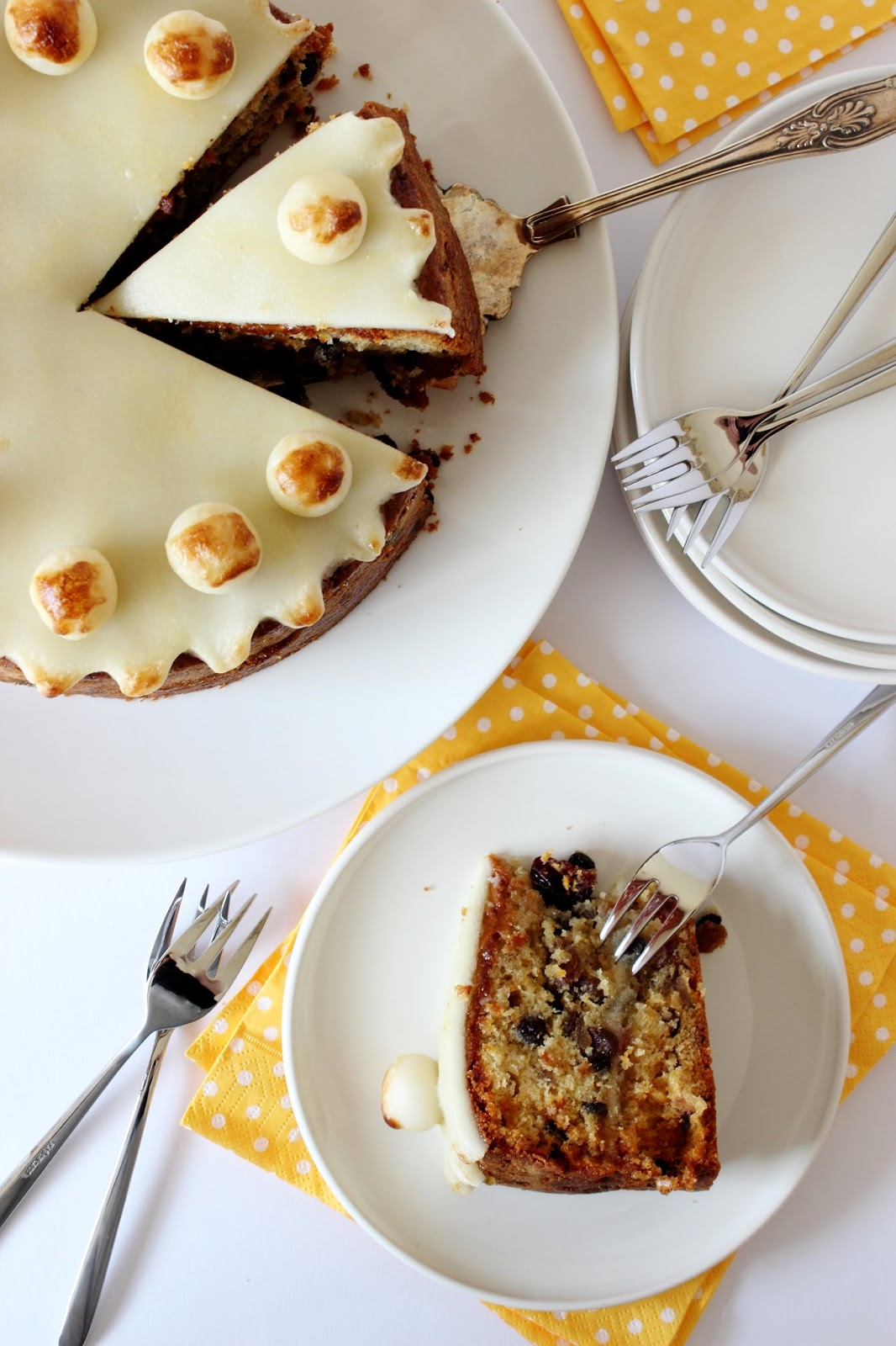 Whiskypaastaart (Simnel Cake)