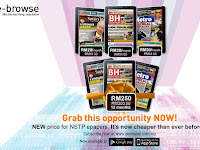 New Price for NSTP Epaper for all Ebrowse Subscribers