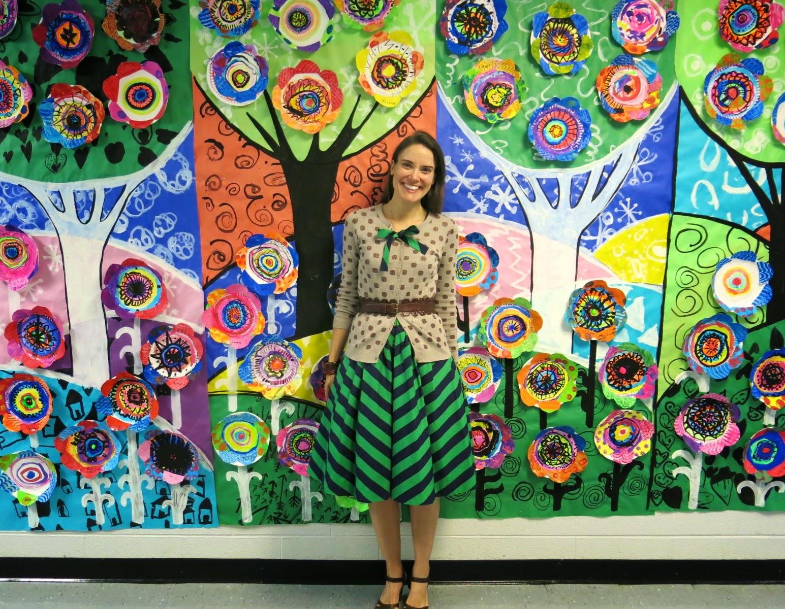 Cassie stephens international dot day for Art decoration international