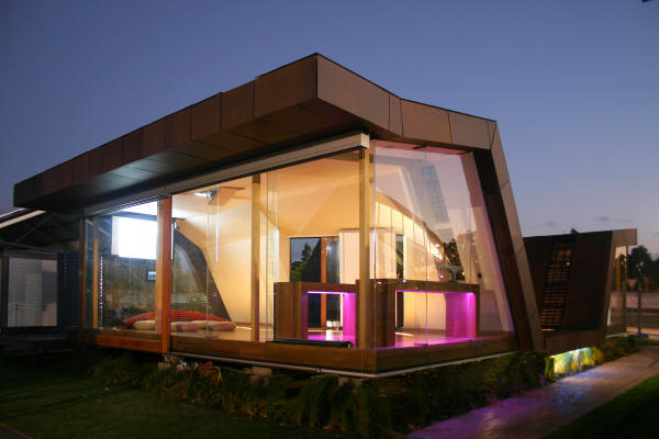 House designs sustainable design house set in sydney for Future home designs