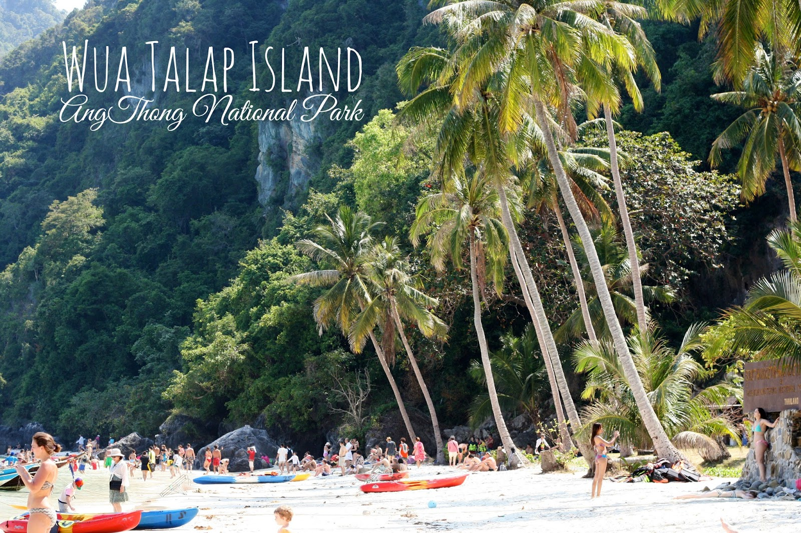 Bien connu Wua Talap Island - Travelin' with JC MS92