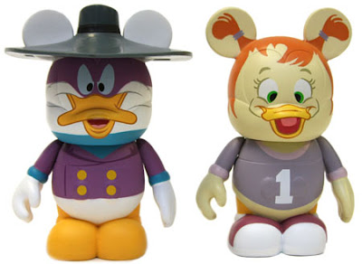 Darkwing Duck Disney Afternoon Vinylmation 2 Pack &#8211; Darkwing Duck &amp; Gosalyn