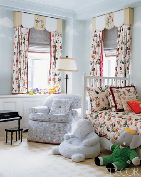 How Beautiful Is This Nursery Love The Colors And Those Stuffed Animals Are Just Adorable