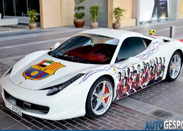 Ferrari on The Car For You  Owner Of A Ferrari 458 S Willing To  Draw  Logo Along