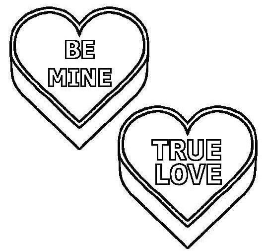 true love coloring pages - photo#10