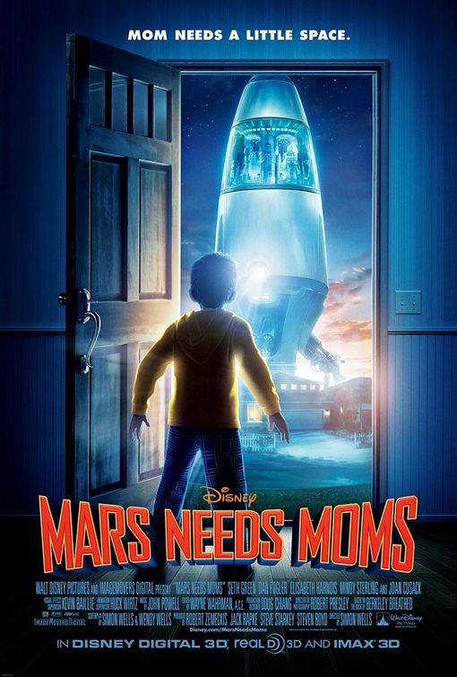 Assistir Filme Marte Precisa de Mães Dublado