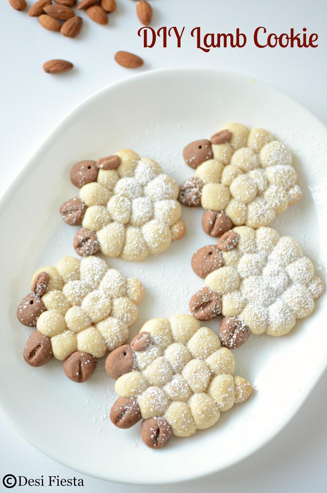 Lamb shaped cookie recipe