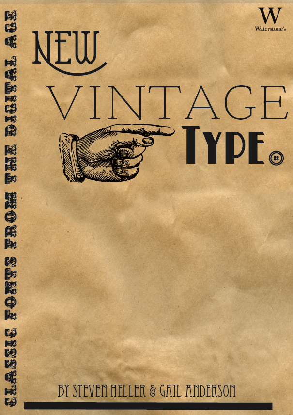 New Vintage Type Poster