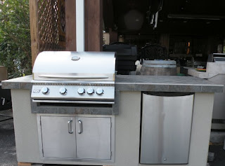 RCS outdoor summer kitchen