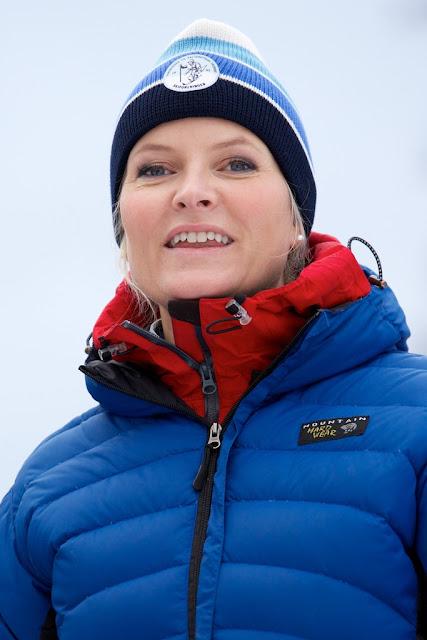Crown Prince Haakon of Norway and Crown Princess Mette-Marit
