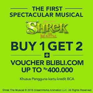 PROMO Tiket Shrek The Musical