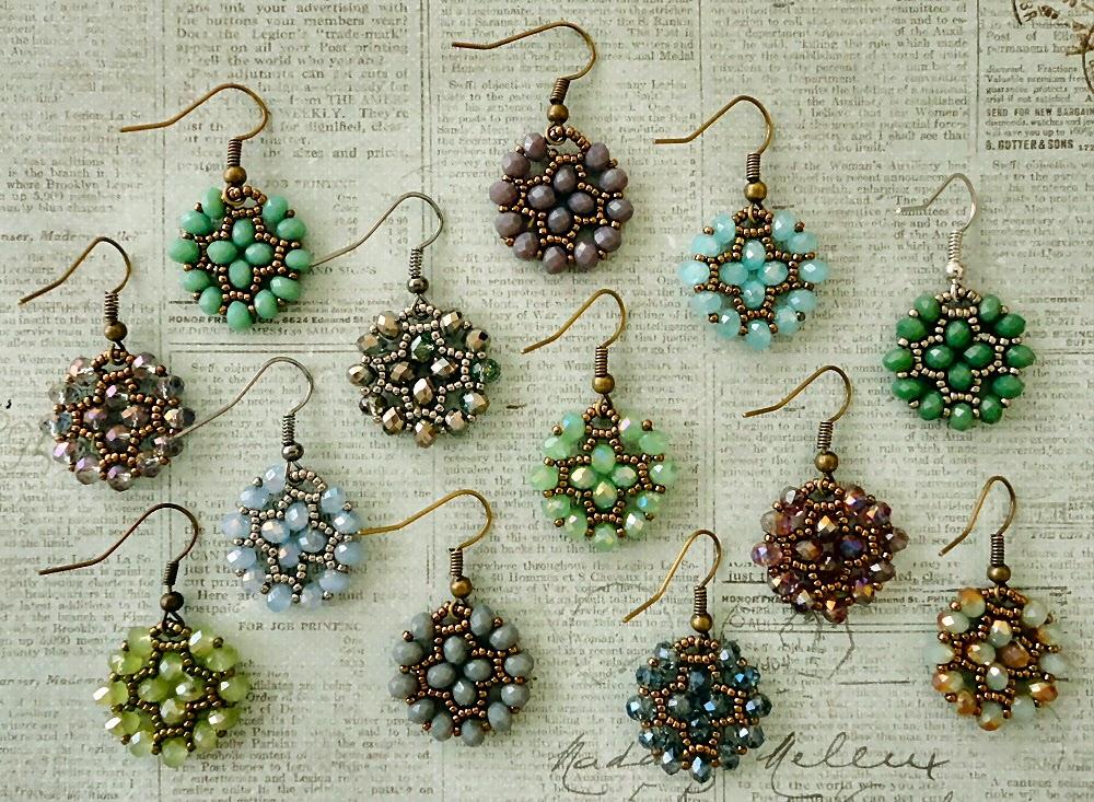Linda\'s Crafty Inspirations: Video Tutorial - Nunzia\'s Easy Earrings