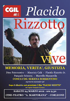 Rizzotto vive! Sabato 24 marzo, manifestazione a Corleone