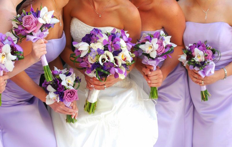 wedding flower bouquets ideas for purple color most beautiful wedding