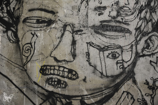 New Indoor Mural By The Popular French Street Artist Dran For The Lasco Project - Palais De Tokyo, Paris. 3