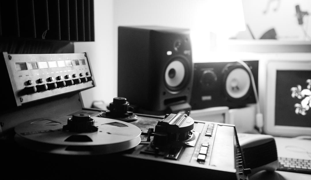 Birmingham recording studio Park Studios JQ | Otari tape machine
