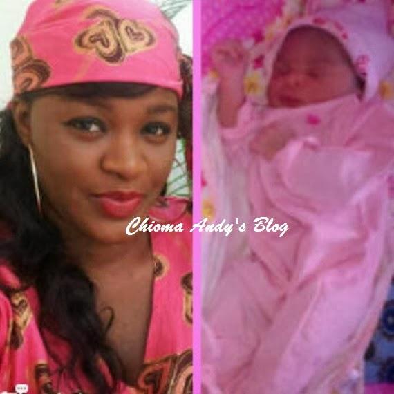 Nollywood Actress Chacha Eke Welcomes Baby Girl chiomaandy.com