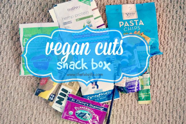Vegan Cuts Snack Box, vegan food, vegan snacks, review