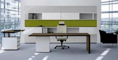 desain meja kantor minimalis 6