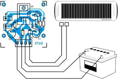 schema regulateur tension panneau solaire. Black Bedroom Furniture Sets. Home Design Ideas