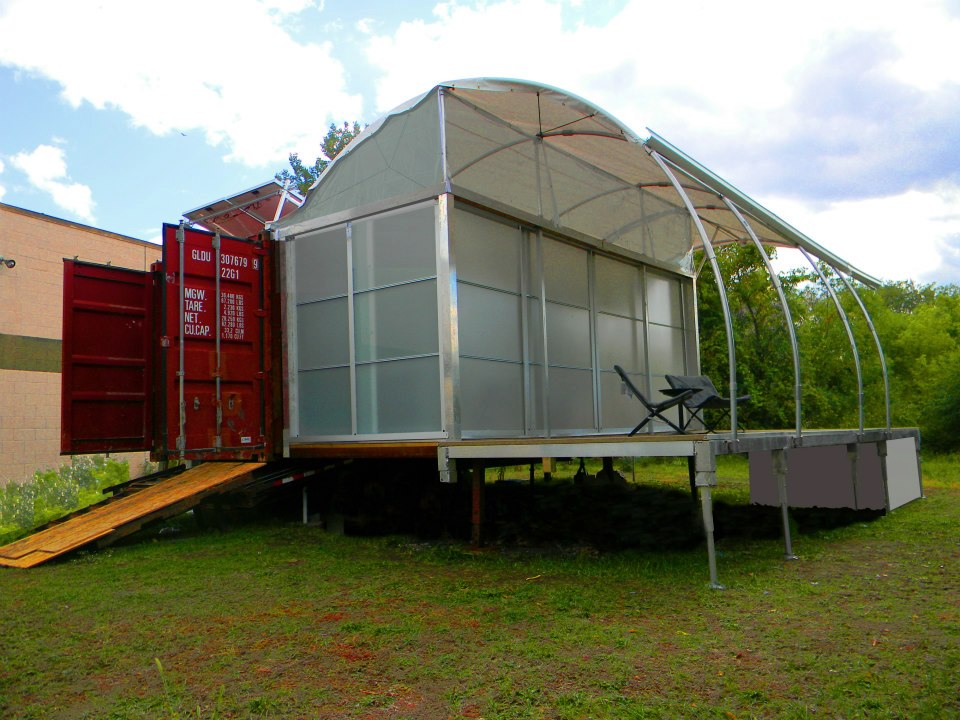 Shipping container homes october 2012 for Containers house design