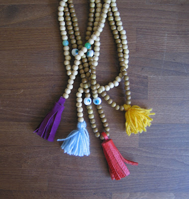 DIY summer necklace