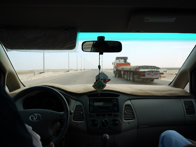 En-route to Al-Khobar