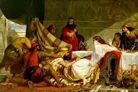 Queen Esther Denouncing Haman