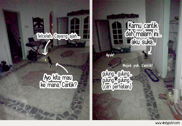 Komik Kucing - Puspus Mulai Pacaran 3