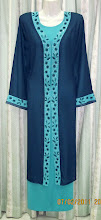 JB104 : Jubah Chiffon 2 Lapis - RM110