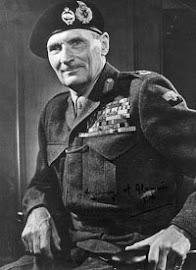General Mariscal de Campo BERNARD LAW MONTGOMERY (Londres 17/11/1887 -  24/03/1976).