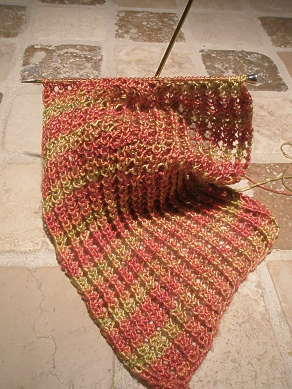 Yarnhog worlds easiest lace scarf a free pattern it took just a few minutes to come up with this pattern there are only two easy rows to memorize and it is highly adaptable to any yarn and any needles bankloansurffo Image collections